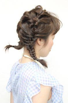 twin tail | 自由が丘・学芸大学・中目黒の美容室 Regolith 自由が丘のヘアスタイル | Rasysa(らしさ)