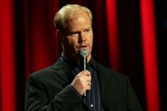 "Jim Gaffigan - One of the few very popular clean comedians these days.  Always makes me laugh ""hot pocket.""   - a pawn on my comedic chess board."