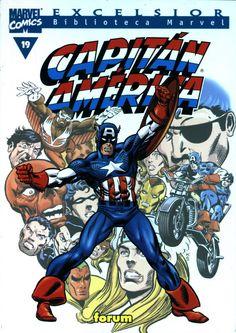 Biblioteca Marvel Capitán América  nº 19