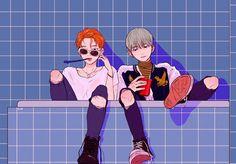 Reasons to ship Yoonmin. © - - ̗̀ Yoonmin Fanart 9 ̖́ - - Page 3 - Wattpad Yoonmin Fanart, Fanart Bts, Fan Art, Kpop Anime, Character Art, Character Design, Bts Drawings, Bts Chibi, Mo S
