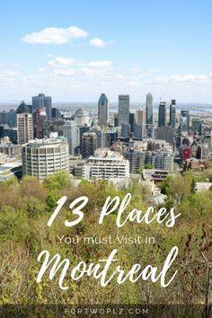 Travel Canada | Quebec | Montreal