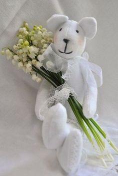 ** Ana Rosa . . . . Gemini Girls Love teddies and Lily of the Valley