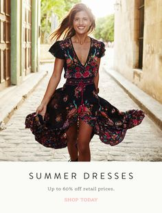 Bella - Vintage Boho Sundress.