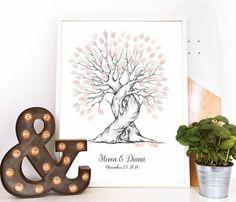 Je veux un arbre à empreinte mariage pour ma journée spéciale !