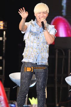 Kang Daesung - One of the most soothing, powerful, and versatile voices I've ever heard. Not a bad looker himself ;)