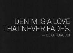 """Denim is a love that never fades"" - Elio Fiorucci #WallisFashion #TheDenimGuide"
