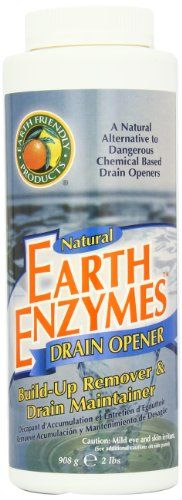 Earth Friendly Products Earth Enzymes, Drain Opener,  32-Ounces  (Pack Of 3), 2015 Amazon Top Rated Drain Openers #HealthandBeauty
