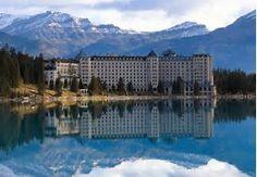 The Fairmont Château Hotel - Lac Louise - Alberta - Canada Lake Louise Banff, Lake Louise Resort, Lake Louise Hotels, Fairmont Chateau Lake Louise, Banff National Park Canada, National Parks, Alberta Canada, Banff Canada, Banff Alberta