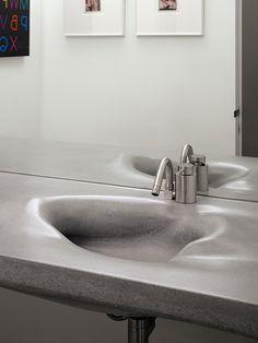 Organic Concrete Sink.
