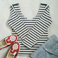 """Host Pick! A&F Nautical Striped Dress S Abercrombie & Fitch striped dress. Size small. Armpit to bottom is 26"""". Great to dress up for work or down for play. New with a tag. Abercrombie & Fitch Dresses Long Sleeve"""