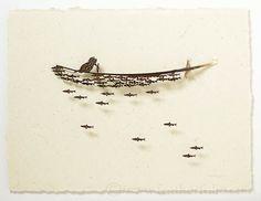 Kingfisher and fish . Chris Maynard . featherfolio . sold