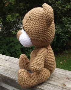 Little Brown Teddy Bear | Craftsy