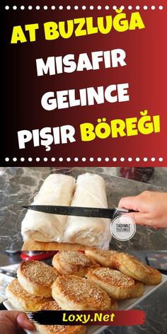 """You prepare this pastry and throw it into the freezer, you can take it out of the freezer and cook it whenever you want. That's why I call it """"icecream"""". You can surprise your intruders who suddenly come with a recipe with potato icecream we will give you Potato Recipes, Snack Recipes, Dessert Recipes, Cooking Recipes, Bien Tasty, Turkish Recipes, Ethnic Recipes, Snacks, Food Design"""