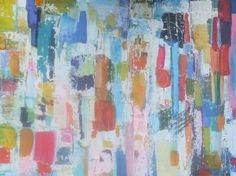 "Saatchi Art Artist Sarah Stokes; Painting, ""view through the city"" #art"