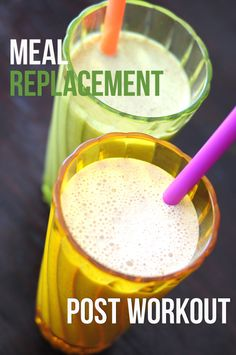 My Top Two Protein Shakes! Meal Replacement and Post Workout. Click on the pic for both recipes!!! #cleaneating (scheduled via http://www.tailwindapp.com?utm_source=pinterest&utm_medium=twpin&utm_content=post5874834&utm_campaign=scheduler_attribution)