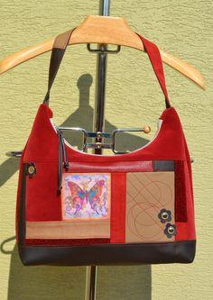 Kabelky - taška Wonder bordová