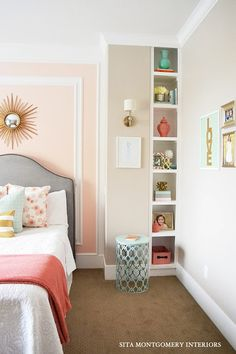 Love this chic room for a teenager