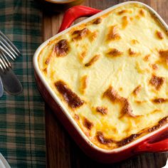 Mousaka from 'Greek Cookery From The Hellenic Heart' - redonline uk