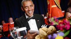 Χιούμορ και «καρφιά» Ομπάμα στο δείπνο ανταποκριτών ~ Geopolitics & Daily News