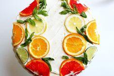 Stella Cake (citrus with lemon curd filling & orange lemon icing).  A bit of sunshine in each bite!