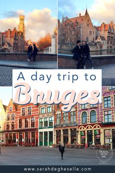 Planning a day trip to Bruges? With these guidelines you will see the most beautiful spots in Bruges and still have time to go souvenir shopping. European Travel Tips, Europe Travel Guide, European Destination, Travel Guides, Travel Advice, Cool Places To Visit, Places To Travel, Travel Destinations, Road Trip