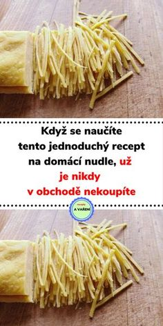 Pasta Recipes, Cooking Recipes, Slovak Recipes, Eastern European Recipes, Jacque Pepin, Cake Decorating Videos, Crunches, Food Art, A Table