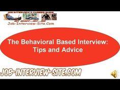 behavioral job interview questions