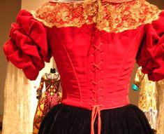 Elena dance dress, bodice detail, Mask of Zorro Zorro Costume, The Mask Of Zorro, Movie Costumes, Halloween Costumes, Historical Women, Summer Design, Dance Dresses, Costume Accessories, Design Projects
