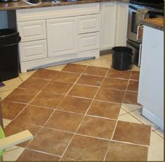 Peel and stick tile over ceramic tile - how to