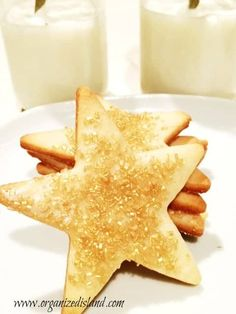 This award sugar cookie recipe is a perfectly crisp and thin sugar cookie. No need for icing but perfect when topped with sugar sprinkles. Christmas Sugar Cookie Recipe, Sugar Cookies Recipe, Cookie Recipes, Christmas Treats, Christmas Cookies, Christmas Recipes, Sugar Sprinkles, Golden Syrup, What's For Breakfast