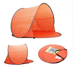 Nisport® Outdoor 3 Person Automatic Pop up Instant Ultra Light Portable Cabana Beach Tent Camper Sun Shelter, Sets up in Seconds (Orange) Nisport http://www.amazon.com/dp/B00X0YJKSQ/ref=cm_sw_r_pi_dp_6HWGwb1Y439KY