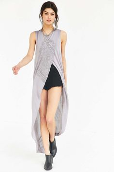 Truly Madly Deeply Crossover Tunic Top