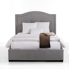 Bloomingdale's Kayla Standard Fabric Bed   Bloomingdale's