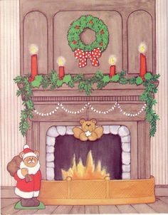 3 of 13 CHRISTMAS BEARS Paper Doll