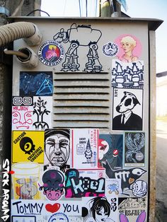 9369c8d9f93c0 StickAround into the streets!!! Wheatpaste Street ArtSticker ...