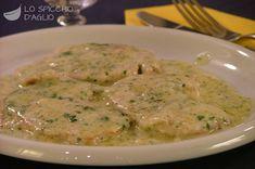 Scallops with 4 cheeses - Scaloppine ai 4 formaggi - Le ricette dello spicchio d'aglio