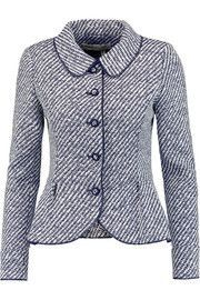 Just in more subtle tones, please Oscar de la Renta Two-tone woven jacket