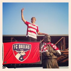 Dirk supports FC Dallas