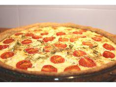 Quiche integral de feta, tomate cereja, rúcula e kefir: Do velho se faz novo. Os ingredientes de sempre. Mistura daqui, troca dali. Saem uns, entram outros. Porque na cozinha as coisas são mesmo ...