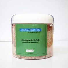 Picture of Himalayan Bath Salts In Jar  Unscented