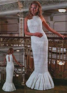 Vestidos de noiva de malha