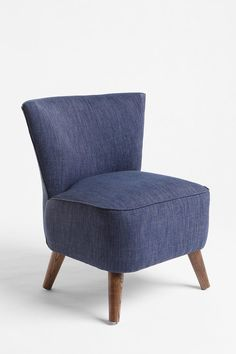 #comfort* #foam-filled #armless #chapman #cushioned #stained #tweed #covered #high-density #serious #cozy #low-profile #wooden #chair #seat #style Chapman Chair