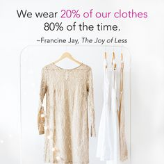 The Joy of Less helps you declutter your wardrobe: http://www.amazon.com/dp/1452155186/