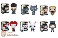 Alice through the Looking Glass POPs - Now Available at www.ozziecollectables.com.au  Buy the bundle with Ozzie Collectables and Save - 6 POPs for $90 #pop #vinyl #popvinyl #pops #funko #alice #aliceinwonderland #alicethroughthelookingglass  #redqueen #red #queen #alice #time #madhatter #movie #disney #popdisney