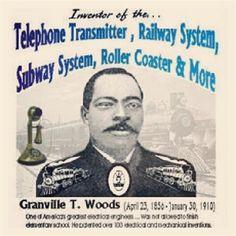 Granville T Woods, Black Inventor.