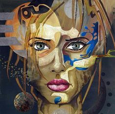 Female images in Vito Loli's paintings - Beauty will save Art Connection, Social Art, Female Images, Face Art, Figure Painting, Art Music, Figurative Art, Lovers Art, My Drawings