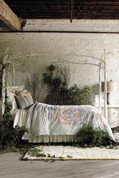 Let's pretend we live in this garden bedroom