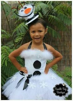Olaf inspired costume!