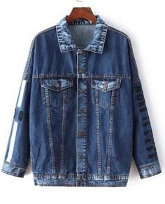 GET $50 NOW | Join RoseGal: Get YOUR $50 NOW!http://www.rosegal.com/jackets/fashionable-long-sleeve-print-denim-444286.html?seid=8047480rg444286