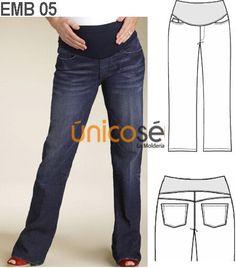 e4de944b6 9 mejores imágenes de Pantalon Materno